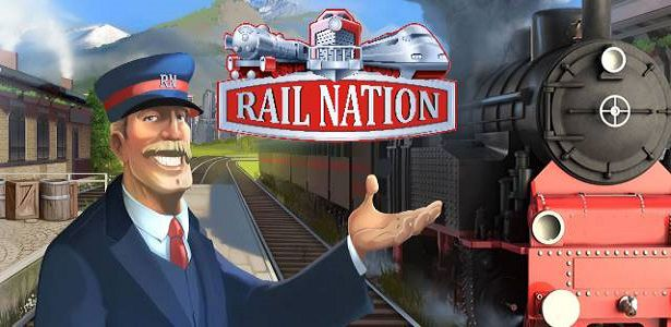 Logo z hry Rail Nation
