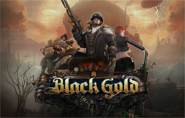 Online hra Black Gold