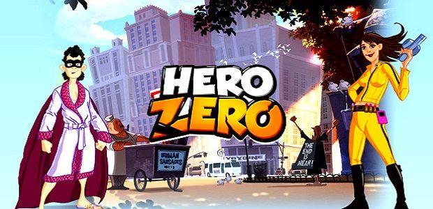 Hero Zero - zábavná MMORPG hra