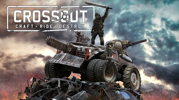 Crossout MMO bojová hra s auty
